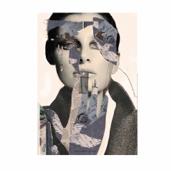 COLLAGE 200.2016   Mixed media digital collage